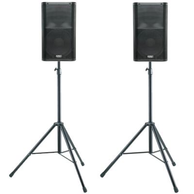 2x QSC K12 + 2x speaker stand
