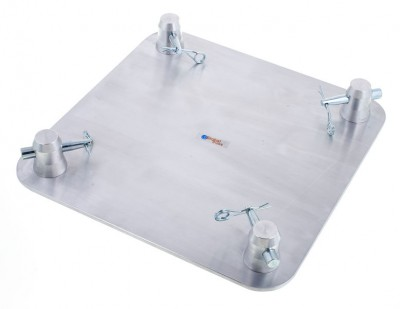 Baseplate small silver